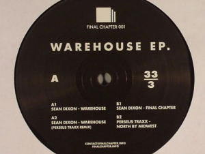 Warehouse EP Front