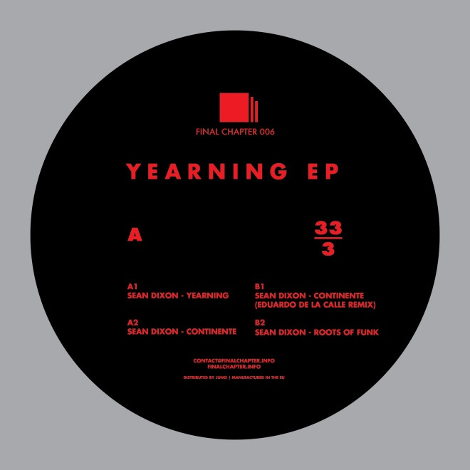 Final Chapter 006 Yearning EP Presale Picture
